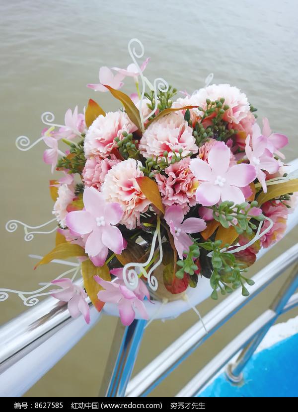 船边的花朵图片