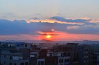 美丽的日落风景