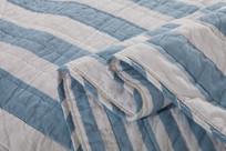 条纹棉被布料