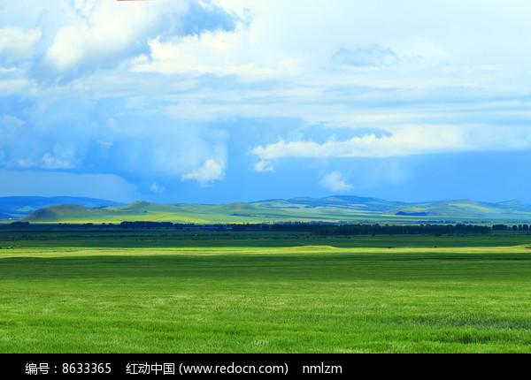麦田风景图片