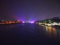 美丽的桂林漓江夜景