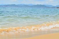 大海沙滩风景图片