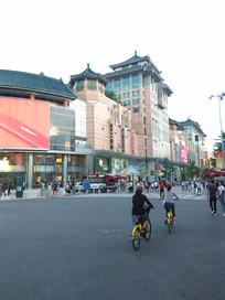 老北京王府井大街