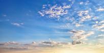 天空云彩蓝色天空