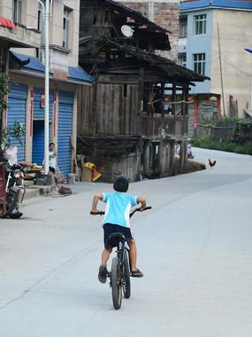乡村骑自行车
