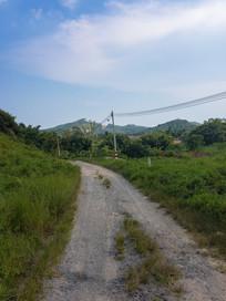 惠州的乡村小路