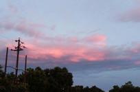 傍晚天边的云彩