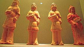 古代陶器人物雕塑