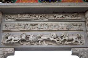 古建筑上的传统石雕