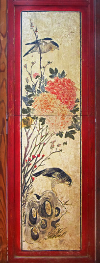 花鸟图绘画