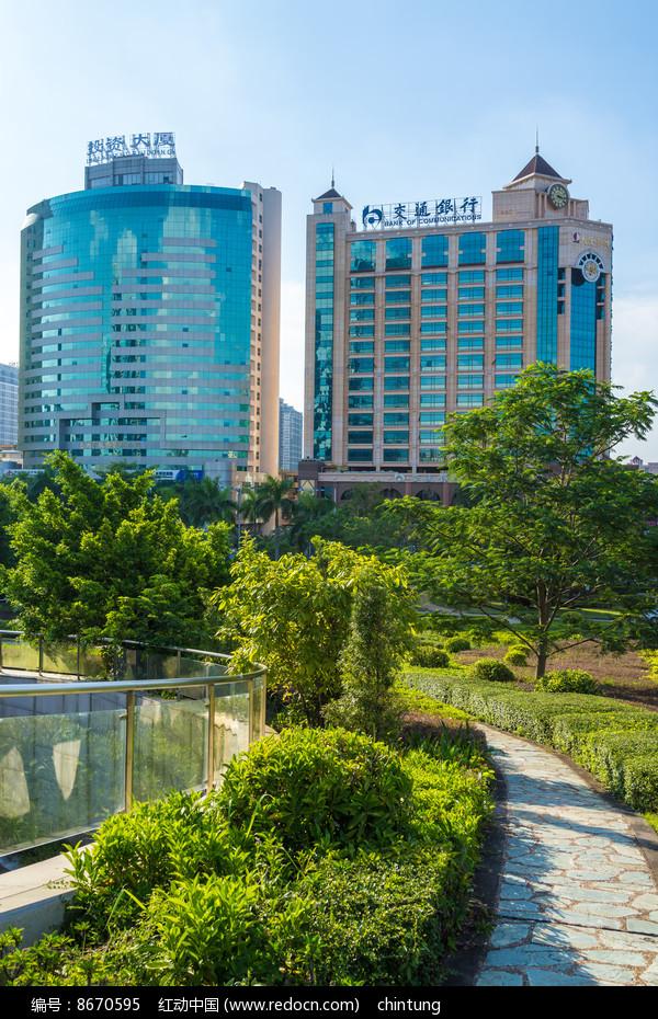 惠州投资大厦和交银大厦图片