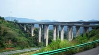 现代道路高架桥