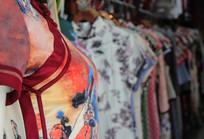 女性花样旗袍
