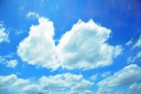 大朵云彩风景图