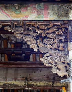 花鸟图木雕古建筑装饰