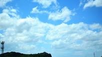蓝天云朵风景摄影