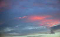 晚霞自然景观摄影