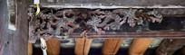 中国龙木雕装饰