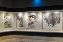 惠州博物馆国画展厅