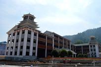 南泉山文化广场侗族风格建筑