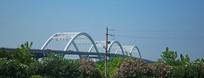 袍江大桥远景