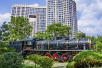 展品上海1222火车头