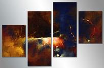 高端抽象油画