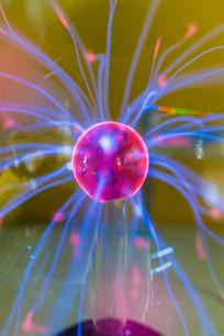 辉光球发光现象