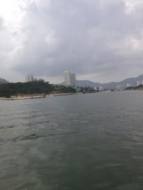海边风景建筑
