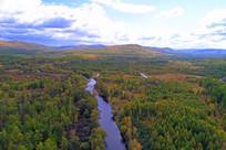 林海中的安格林河