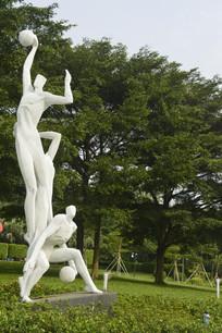 广州新体育馆雕塑