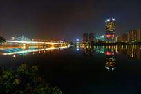 惠州市区江滨夜景