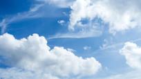 唯美的蓝天白云背景