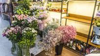 唯美的鲜花店
