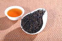 金骏眉茶干茶汤摄影