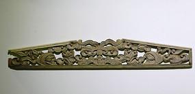民间艺术花卉木雕