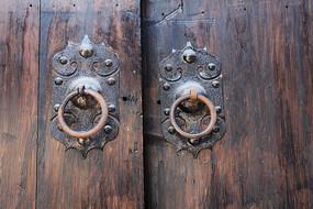 农村大门装饰性和实用性把手