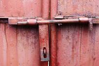 农村大铁门开关