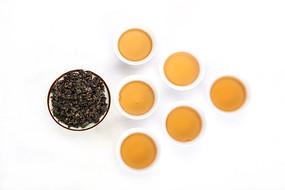 铁观音茶干茶汤摄影