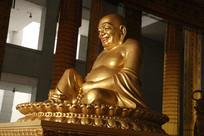 法门寺弥勒佛铜像侧面