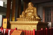 法门寺弥勒佛铜像正面