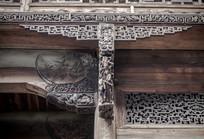 徽派建筑木雕木刻
