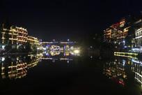 凤凰城夜景照片