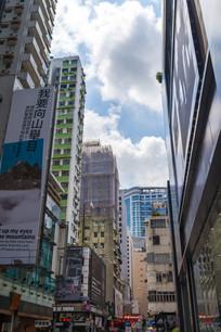 香港旺角城市建筑