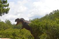 爱丽丝庄园蓝天下的恐龙
