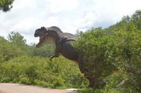 奔跑在爱丽丝庄园的恐龙