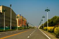 城市柏油路