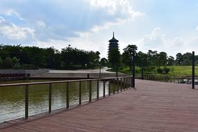 五象湖公园五象湖塔