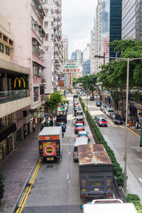 香港骆克道风景