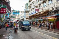 香港上水的街道